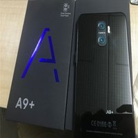 Wholesale new video mms for sale - Group buy NEW A9 Unlocked smartphone Android Goophone A9 PLUS G LTE Octa Core octa core G fake GB RAM GB ROM with fingerprint cell