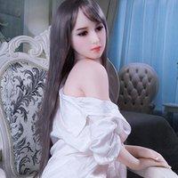 vagina realista para la venta al por mayor-Venta caliente muñecas sexuales de silicona reales 140 cm 148 cm esqueleto adulto japonés amor muñeca vagina realista gatito realista muñeca para hombres pecho grande