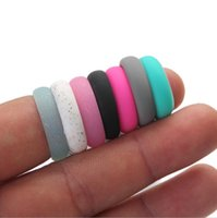 Wholesale ring finger girls - Fashion Trendy Popular 5 6 7 8 9 Size Environmental silicone Female Ring For Women Girls Office Lady Finger Jewelry