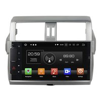 Wholesale 10 inch Octa core Andriod Car DVD player for Toyota Prado with GPS Steering Wheel Control Bluetooth Radio