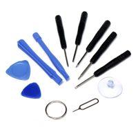 ipad iphone repair toptan satış-Cep Telefonu Tamir Açılış 11 in 1 Takım Araçları Kiti Pentalobe Yıldız Tornavida Ekran telefon ipad Samsung iphone için 8 X 5 S 6 7