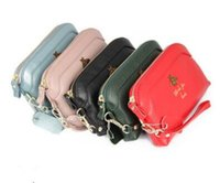 Wholesale zero cell phone online – custom new fashion Genuine Leather Long Double zipper lady hand bag zero purse Coin Card Bag