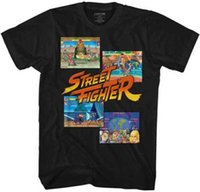 Wholesale multiple games for sale - Street Fighter Multiple Fight Screens Capcom Video Game Adult T Shirt