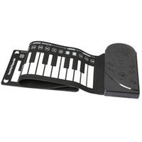 rodar teclado de piano al por mayor-49 tecla altavoz rollo de mano piano electrónico portátil plegable teclado suave electrónico enrolle el piano-MÚSICA