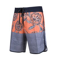 Wholesale bermudas pants men for sale - Group buy Bermudas Surf Shorts Summer Fashion Quick Dry Spandex Boardshorts Beach Swim Short Pants Elastic Mix Orders