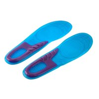 Wholesale Orthopedic Silicone Insole - 1pair Women Sports Massaging Breathable Silicone Gel Insoles Arch Support Orthopedic Plantar Fasciitis Popular Worldwide Sale
