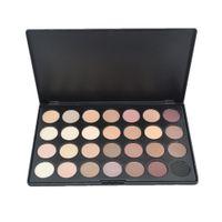 28 палитры макияжа для теней для век оптовых-New 2018 Professional 28 Colors Eye Shadow  Cosmetic Shimmer Matte Eyeshadow Palette Beauty