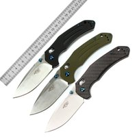 Wholesale ganzo knives carbon fiber - Super Militari Folding knife C Blade G10 or carbon fiber Handle Camping Survival Tactical Utility Ganzo F7611 Firebird Knifes