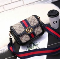 Wholesale girls dress plain - popular Europe Luxury brand A quality women's Cross Body Shoulder Bags Totes Genuine Leather bags five colors