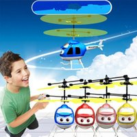 Électrique RC Flying Ball Hélicoptère Infrarouge Induction Avion Flash LED Lumière À Distance Jouets LED Flying Balls 9 Styles OOA3848