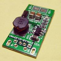 Wholesale Step Up Boost Converter - 8W 5V To 12V DC-DC Converter Step Up Module 5W USB Power Supply Boost Low Tension High-power Buck-boost Regulator Voltage Regulator
