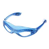 Wholesale spark light online - Spark LED Light Up Flashing Glasses for Rave Club Masquerade DJ Party