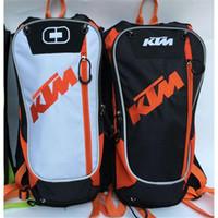 motosikletler için sırt çantaları toptan satış-Yeni Motosiklet Seyahat Sırt Çantası Motocross ile 2 Litre TPU Su Torbası Motosiklet Sürme Eyer Çantası Dağ bisikleti Alet çantası
