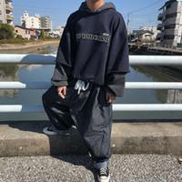hoodie trend moda toptan satış-18FW Gosha Rubchinskiy Kapüşonlu Tişörtü Kanye West Pamuk Hoodies Erkek Kadın Çift Giyim Moda Trendi Tişörtü HFTTWY064
