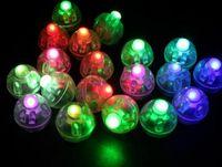 erwachsene plastikstirnbänder groihandel-Runde form ballon lampe, mini LED ballon licht für Papierlaterne hochzeit weihnachtsfeier dekoration