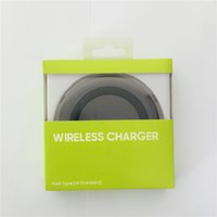 Wholesale Plastic Conversion - S6 Plastic Qi Wireless Chargers Induction Coil Fast Charging High Efficient Conversion Energy Saving Weapon Chargers For Samsung Galaxy S6