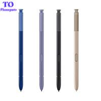 stylus pen оптовых-Для Samsung Note 8 Pen Active Stylus S Pen Примечание 8 Стилет Caneta сенсорный экран ручка для мобильного телефона Galaxy Note8 S-Pen