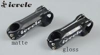 Wholesale Carbon Fiber Bike Parts Forks - ievele 3K Full Carbon Fiber Bicycle Stem Mountain Bike Road Bike 6 Degree Stem Parts fork 28.6 31.8mm handlebar 25.4 31.8mm 130g
