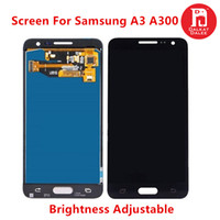 a3 bildschirm großhandel-Für samsung galaxy a3 2015 a300 a300 a300f a300m tft lcd display touchscreen digitizer assembly ersatz helligkeit einstellbar