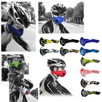 Wholesale Womens Black Mask - Wholesale- 13 Kinds Cycling Face Mask Mens Womens Anti-Pollution Mouth-Muffle Dust Cover Sports Riding Mountain Bicycle Motorola Masks