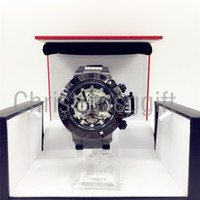 Wholesale mm holidays - Hot JULY LONG holiday Creative INVICTA BLACK watches quartz-watch unique dial design lovers' watch leather wristwatches clock