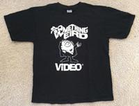 sexe vidéo achat en gros de-RARE!! QUELQUE CHOSE DE WEIRD VIDEO Vtg T Shirt CULT HORROR B-MOVIE GRINDHOUSE SEX TOP