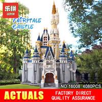 Wholesale kids building toys for sale - LEPIN Cinderella Princess Castle City set Model Building Block Kid DIY Toy Funny Birthday Gift Compatible