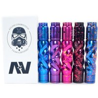 Wholesale av plastic - Original AV MOD SET Kit Avid lyfe AV starter kits 18650 battery Electronic Cigarette 510 thread Vape mod RDA atomizer DHL free