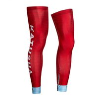 Wholesale legs warmers for sale - Group buy 2018 KATUSHA PRO TEAM CYCLING LEG WARMER SPANDEX COOLMAX LYCRA UV PROTECTION SIZE S XXL