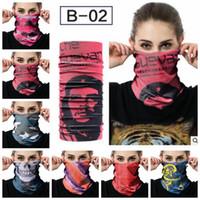 Wholesale mask designs red for sale - Group buy 20 design Magic Scarfs Scarf Outdoor MASK Multifunctional Cycling Bandana Women Men Hot Hair band Scarf Magic Headwear KKA4514