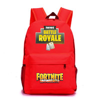 Wholesale tools for school online - Fashion Fortnite Luminous Backpacks With Soft Handle Printed Bookbag For Girls And Boys School Bags New Arrival rr BB