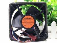 ventilador a prueba de agua al por mayor-Ventilador impermeable 4715JT-D4W-B36 12 cm NMB 12V 0.13A ventilador del refrigerador