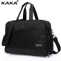 novo laptop de 17 polegadas venda por atacado-KAKA Novo Lidar Com Laptop Bag Para Homens Homens De Negócios Casuais Saco Do Mensageiro de 17 Polegada Laptop Travel Totes Ombro Único A076