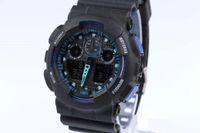 digitales handgelenk großhandel-g Militärsportuhr Männer ga100 Top-Marke Luxus Berühmte Elektronische LED Digital Armbanduhr Männliche Uhr Für Mann Westeuropa Uhrenarmband