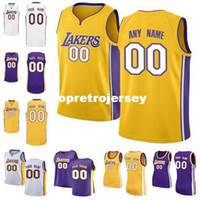 Wholesale numbers vests - Wholesale New vest Custom Jersey Any number any name customize Mens Youth Women Stitched Personalized Purple White Gold basketball Jerseys