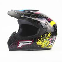 bisiklet kaskı erkek xl toptan satış-ABS Motokros Kask ATV Motosiklet Yarışı Kaskları Dağ Bisikleti kask Tam Yüz AM DH tüm mevsim adam kadın Sml XL XXL