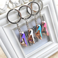 Wholesale women high heel keychain for sale - Colorful Mini High Heeled  Shoes Keychain Acrylic Cute 5a5d379218