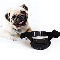 Wholesale battery trains - 7 Sensitivity Levels Automatic Remote Control Barking Deterrents Tools No Shock Adjustable Dogs Training Collars Battery Dog Pet Supplies