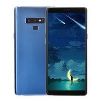 Wholesale wireless mp3 player blue black for sale - Cheap G WCDMA Goophone N9 Face ID GB GB Quad Core MTK6580 Android inch Full Screen Metal Frame D Glass Back Cover Smart Phone