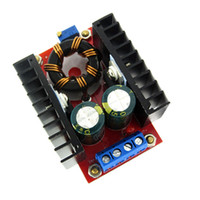 Wholesale step up boost converter - New 150W Boost Converter DC-DC 10-32V to 12-35V Adjustable Step Up Voltage Charger Module EM88