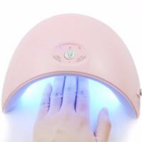 jel çivi uv lambaları toptan satış-Yeni Her Türlü 36 W UV Led Lamba Tırnak Kurutucu Jel 12 Leds UV Lambası Tırnak Makinesi Kür için 60 s / 120 s Zamanlayıcı USB Konektörü