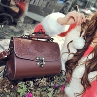 Wholesale flowers wallets for women online - Brand New Shoulder Bags Leather Luxury Handbags Wallets High Quality For Women Bag Designer Totes Messenger Bags Cross Body