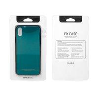 handys pakete großhandel-Soem-Kleinverpackenkasten für Handyfall für iPhone X Fallgeschenkkasten-Stützkundenspezifisches Design für iPhone 7 Fall