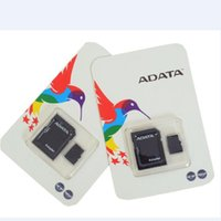Wholesale Genuine Micro Sd Cards - ADATA 100% Real Genuine Full 2GB 4GB 8GB 16GB 32GB 64GB 128GB Micro SD TF MicroSD SDXC Memory Card for Android Phones bluetooth speakers
