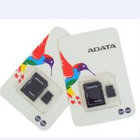 4gb micro sd großhandel-ADATA 100% echte echte volle 2 GB 4 GB 8 GB 16 GB 32 GB 64 GB 128 GB Micro SD TF MicroSD SDXC Speicherkarte für Android Handys bluetooth lautsprecher
