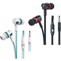 marka mikrofon toptan satış-Langsdom Kulakiçi JM26 Orijinal Marka Kulaklık Yeni Kulaklık Gürültü Iptal Mikrofon ile Cep Telefonu için