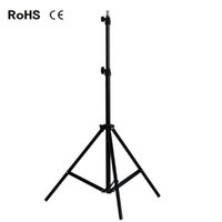 мигание кронштейна оптовых-200cm 6.5ft Light Stand Studio Photography Flash Speedlight Umbrella Stand Holder Bracket Tripod
