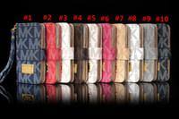 ingrosso caso del portafoglio di iphone di apple-Per Gaalxy S9 S9plus dal design di lusso cassa del raccoglitore di caso Famosa per iPhone x 8 8plus 7 6 6s