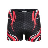 Wholesale Boys Swimming Briefs - 2018 new Men's flat-bottomed quick-drying professional increase mens models swim trunks bathing Shorts Boys man Swim Briefs