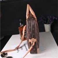ingrosso borsetta per le donne-Deposito Designer Handbag mens borsa di lusso delle donne di affari di marca Borse Da Viaggio Borse spalla della cartella di grande capienza 14 - Borse Inch Computer